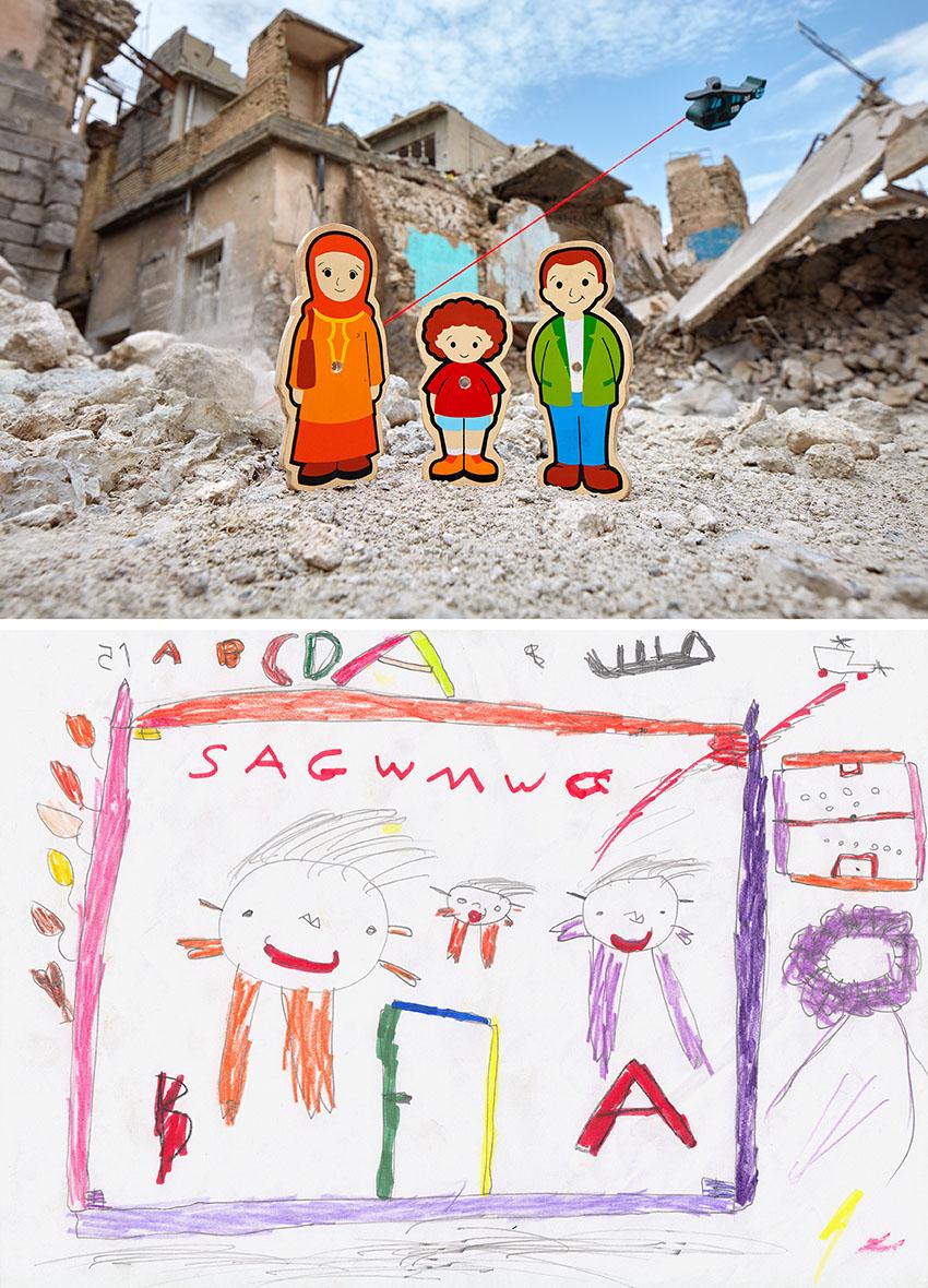 War Toys Un Fotografo Racconta I Disegni Di Guerra Dei Bambini