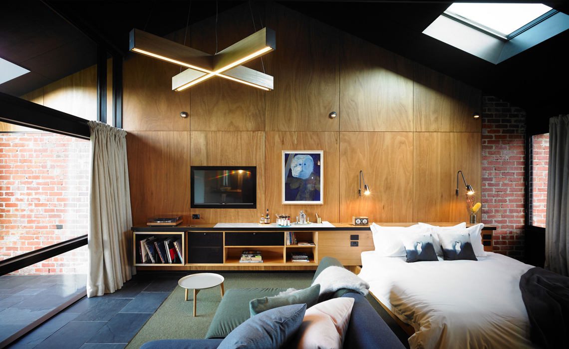 Brae accomodation in Australia con giradischi per vinile