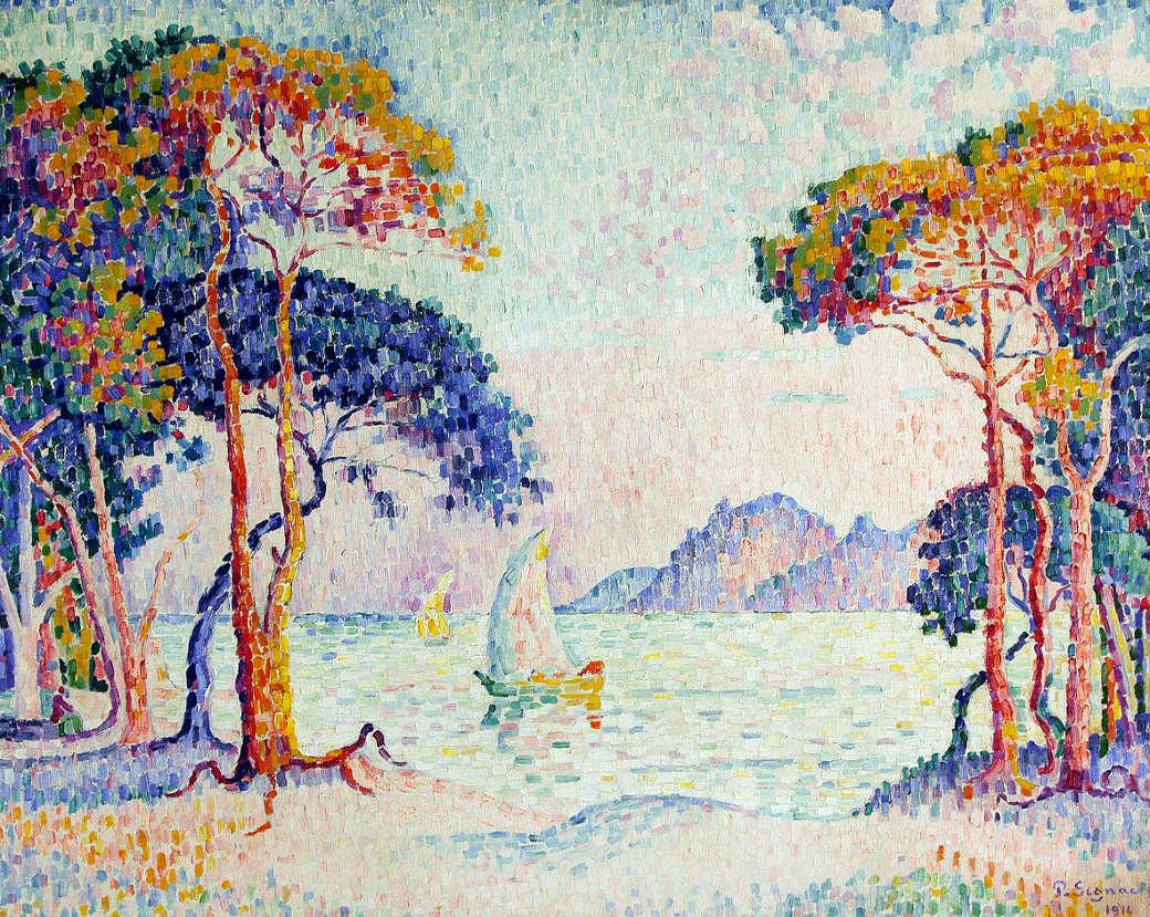 Puntinismo Luce E Colore Con Paul Signac A Lugano