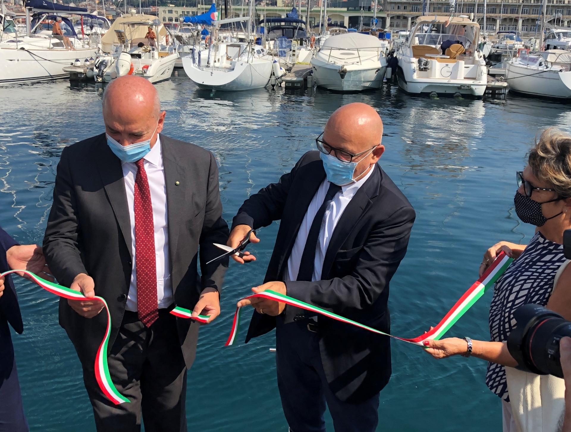 Inaugurazione Seabin Trieste