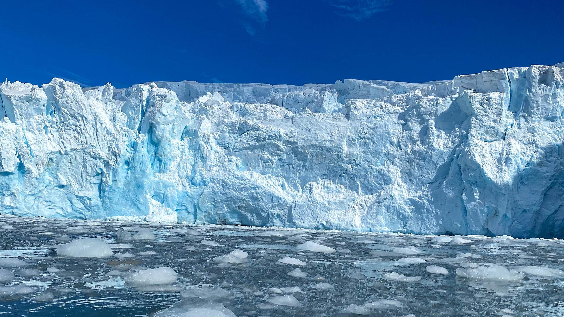 fusione dei ghiacci, antartide