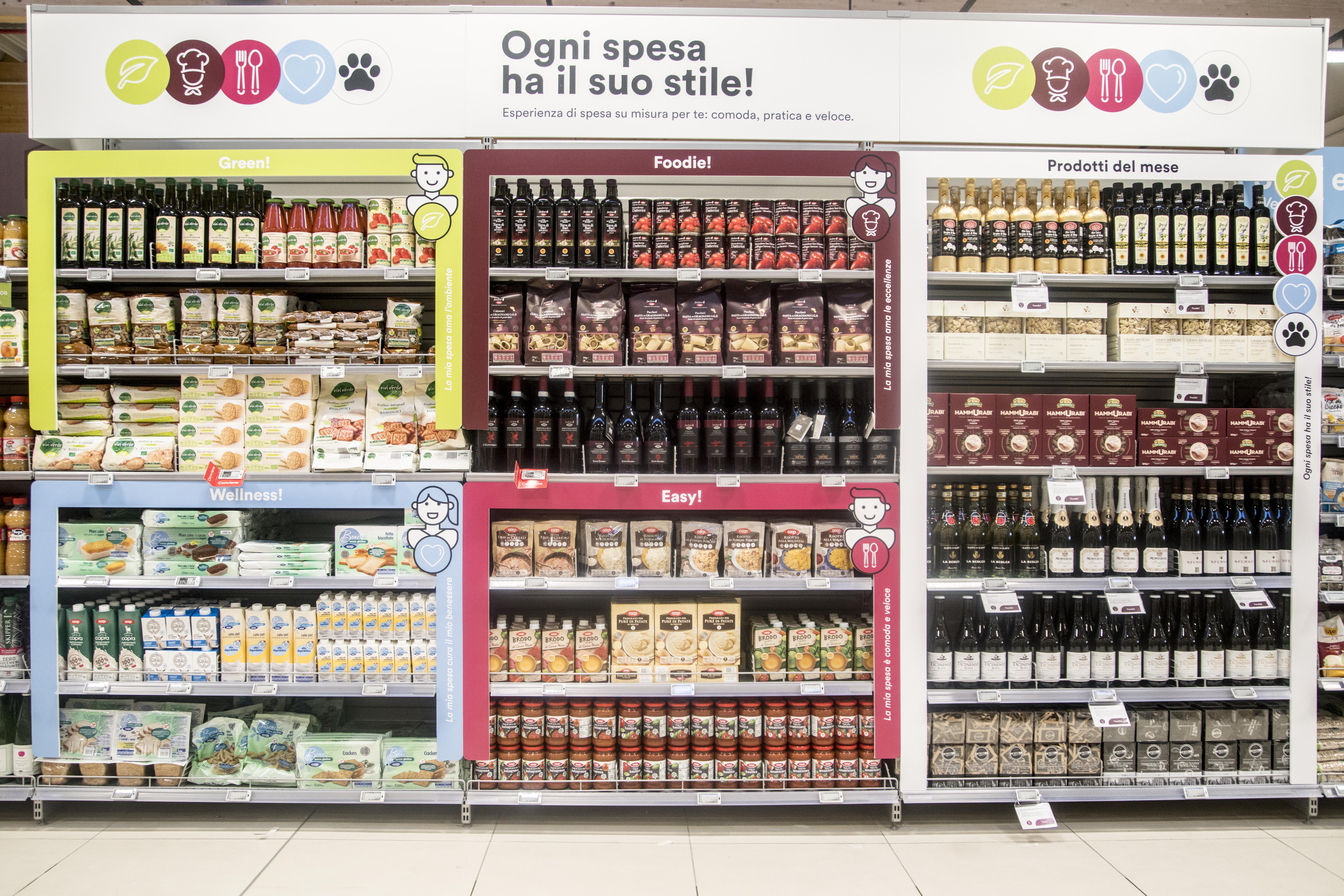 supermercato per persona autistiche monza