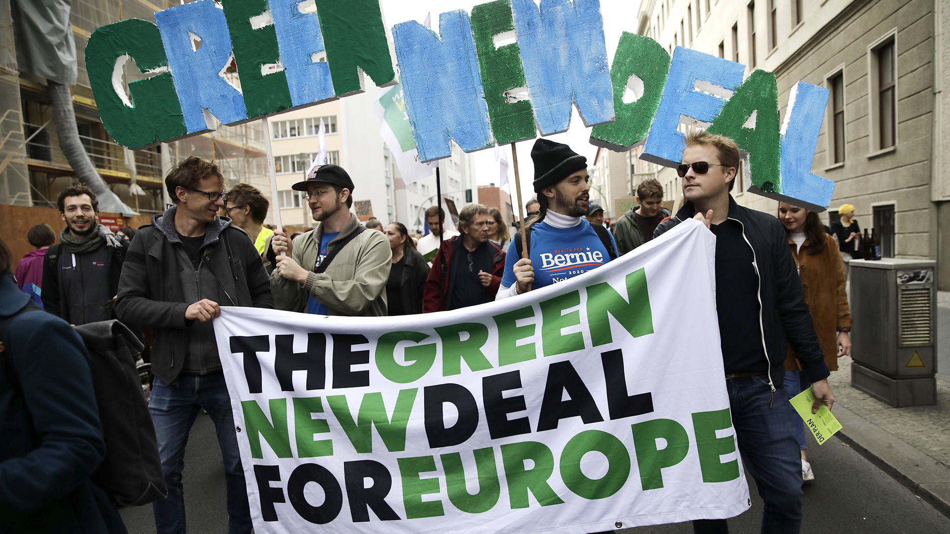 fridays for future, green deal europeo