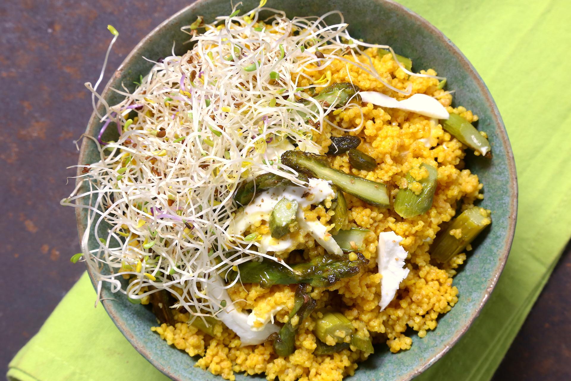 Couscous giallo