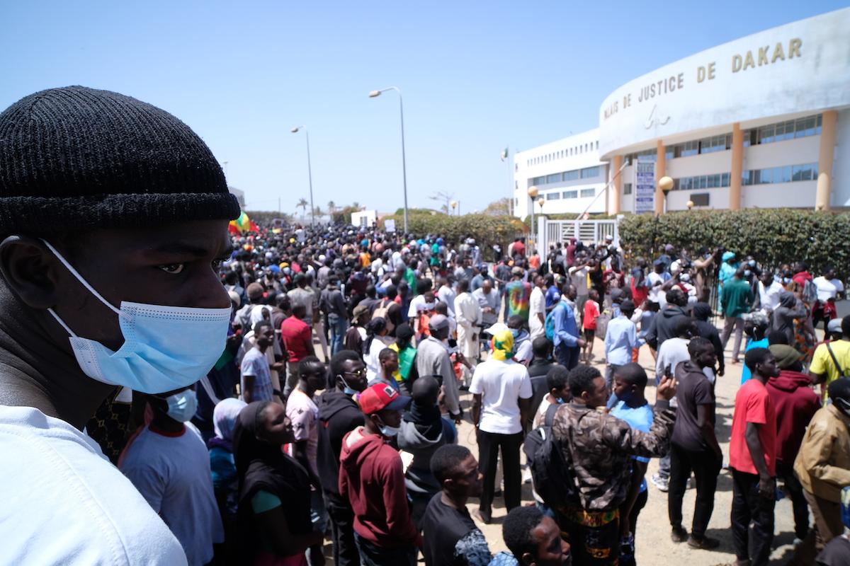 Senegal, manifestazioni davanti al tribunale