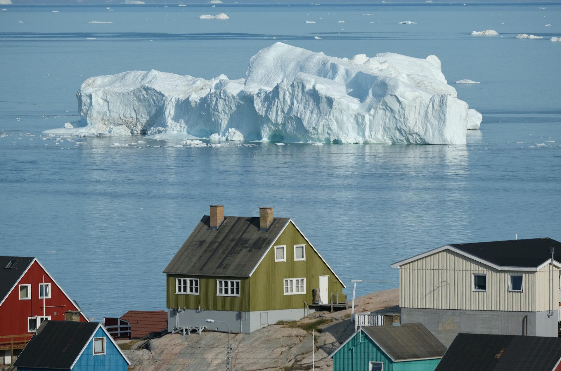 Groenlandia calotta glaciale