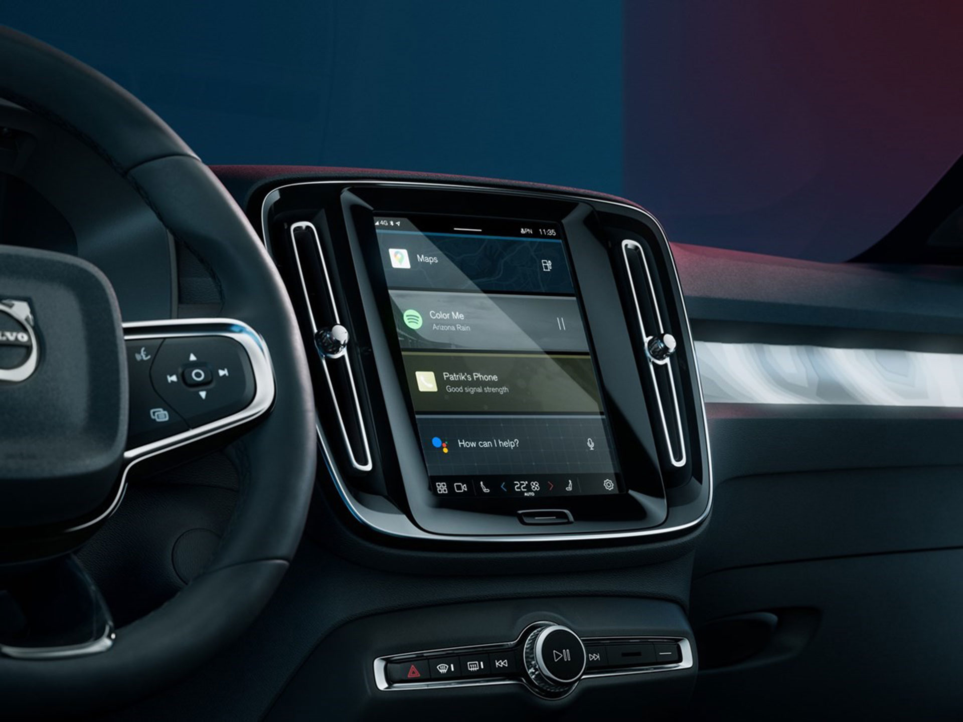 Android automotive Volvo