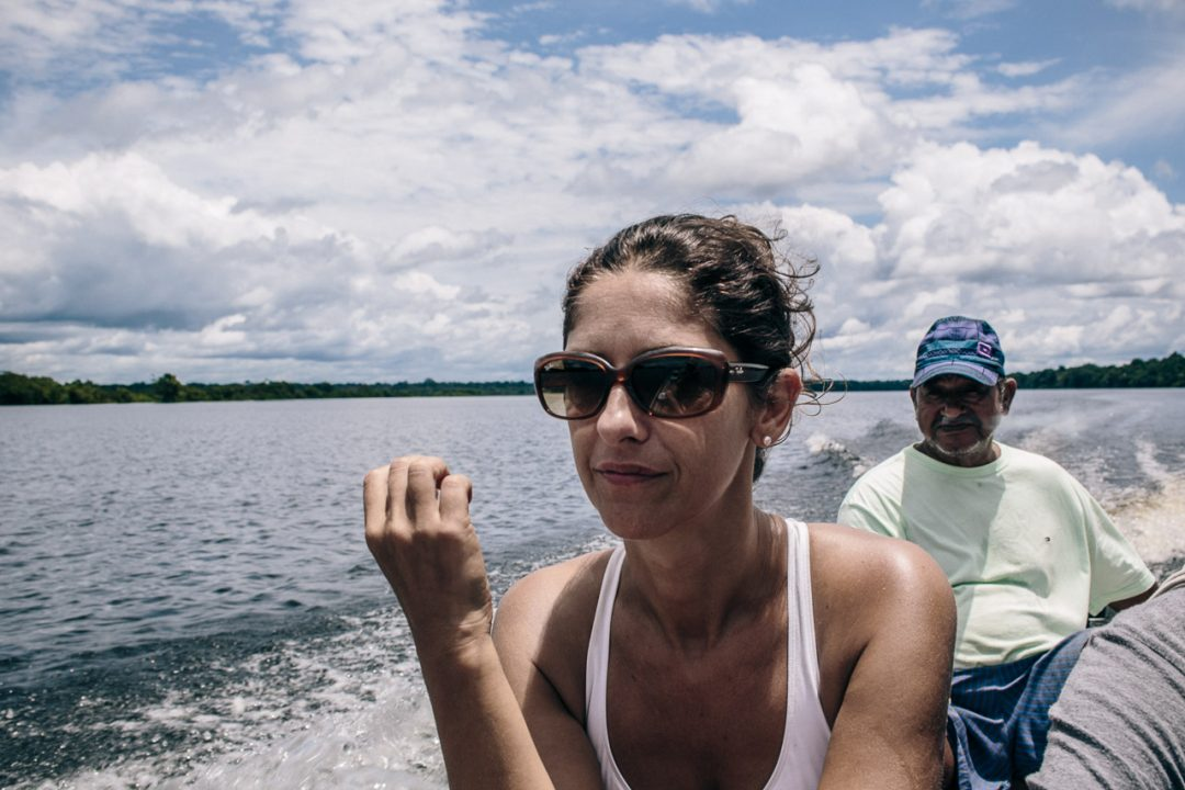 Emanuela Evangelista, presidente di Amazônia Onlus