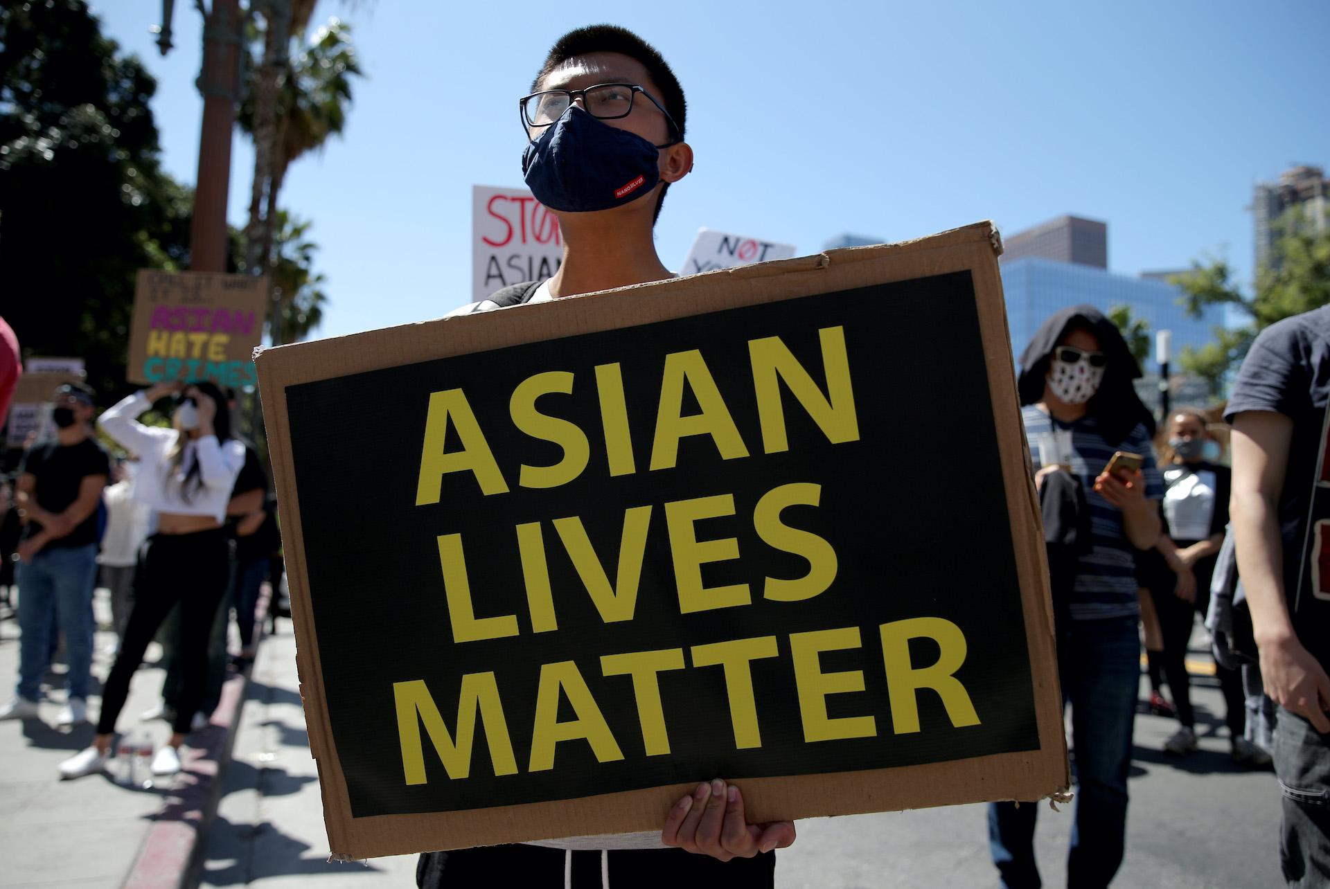 Proteste contro razzismo anti-asiatico, Stati Uniti
