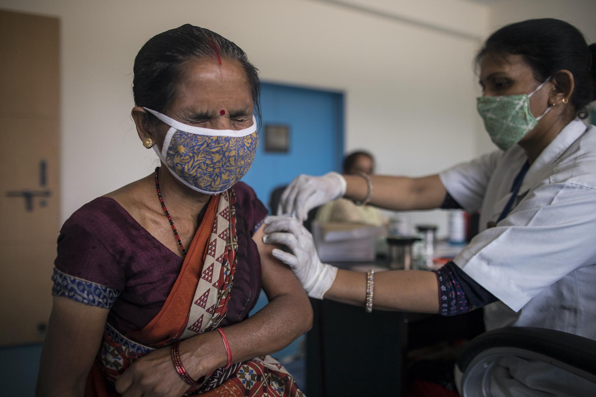 Le vaccinazioni procedono a rilento in India