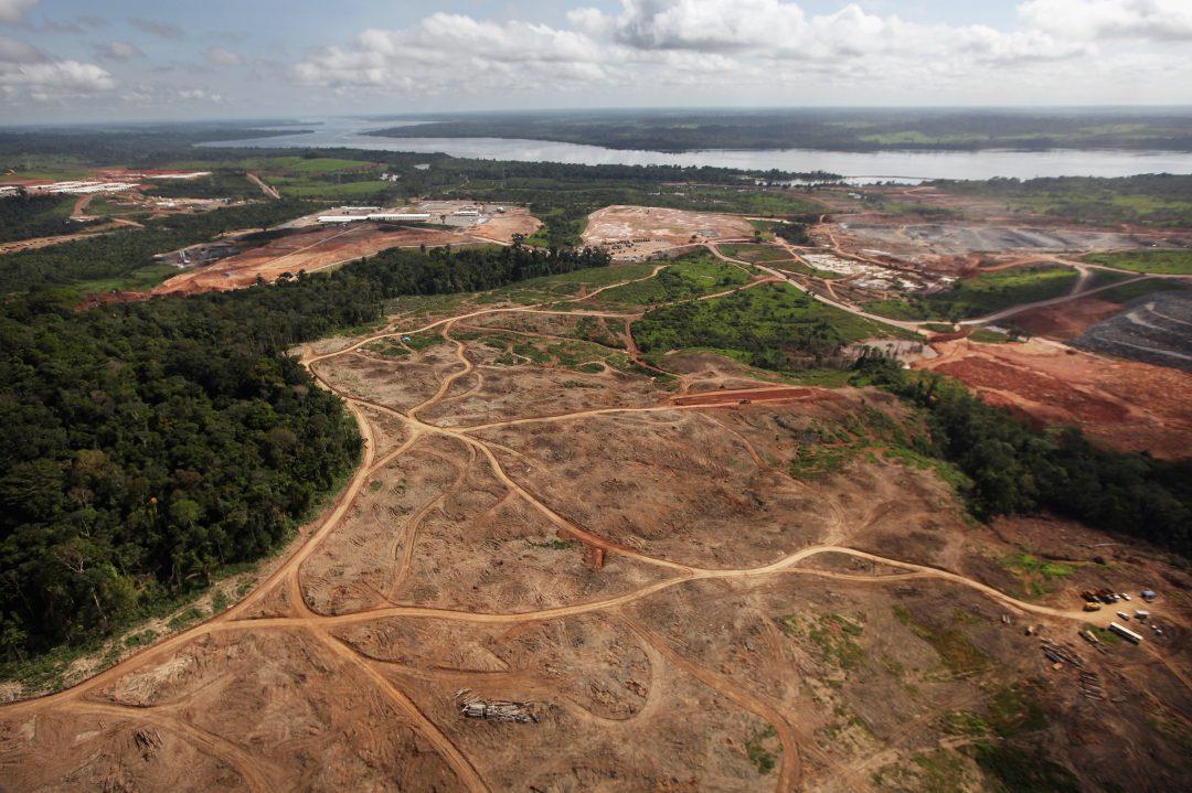 La deforestazione dell'Amazzonia in Brasile