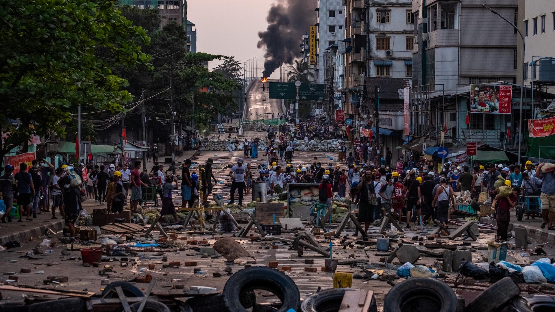 Il Myanmar è sull'orlo della guerra civile