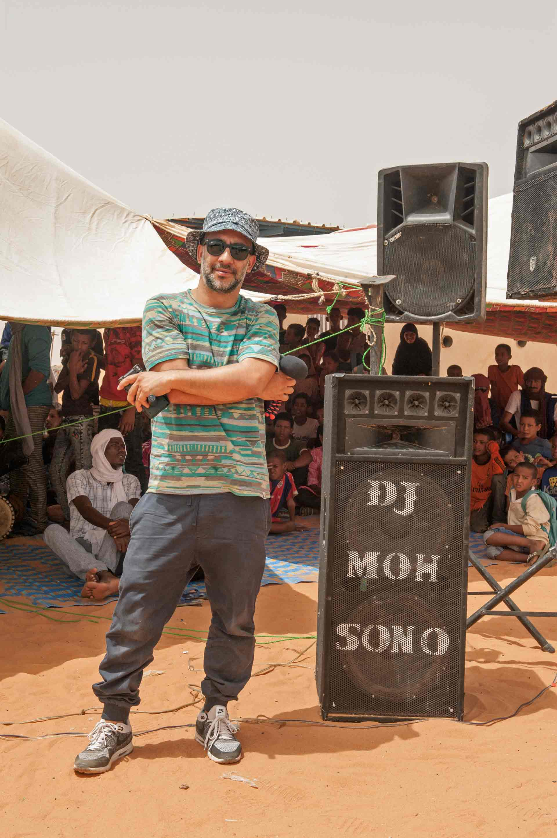 Khalab nel campo profughi di M'Berra