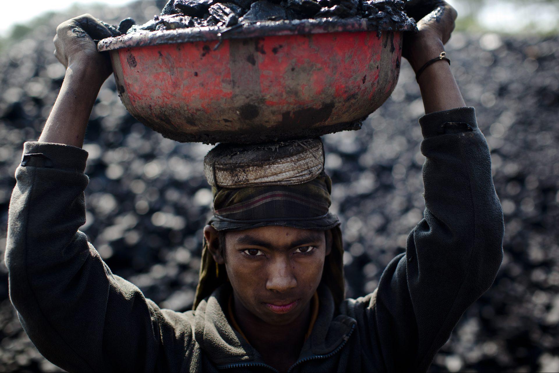 trasporto carbone india