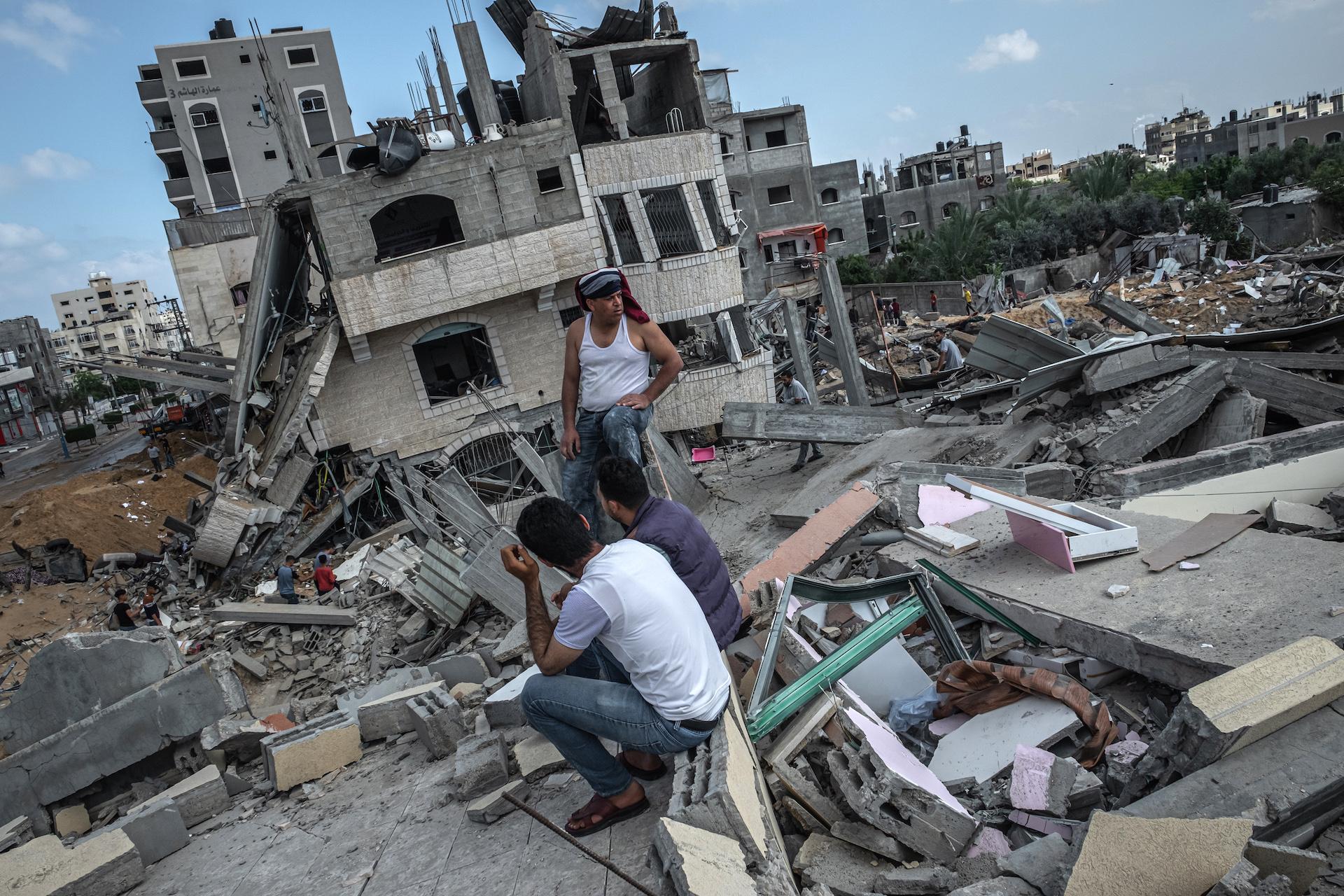 Bombardamenti di Israele nella Striscia di Gaza