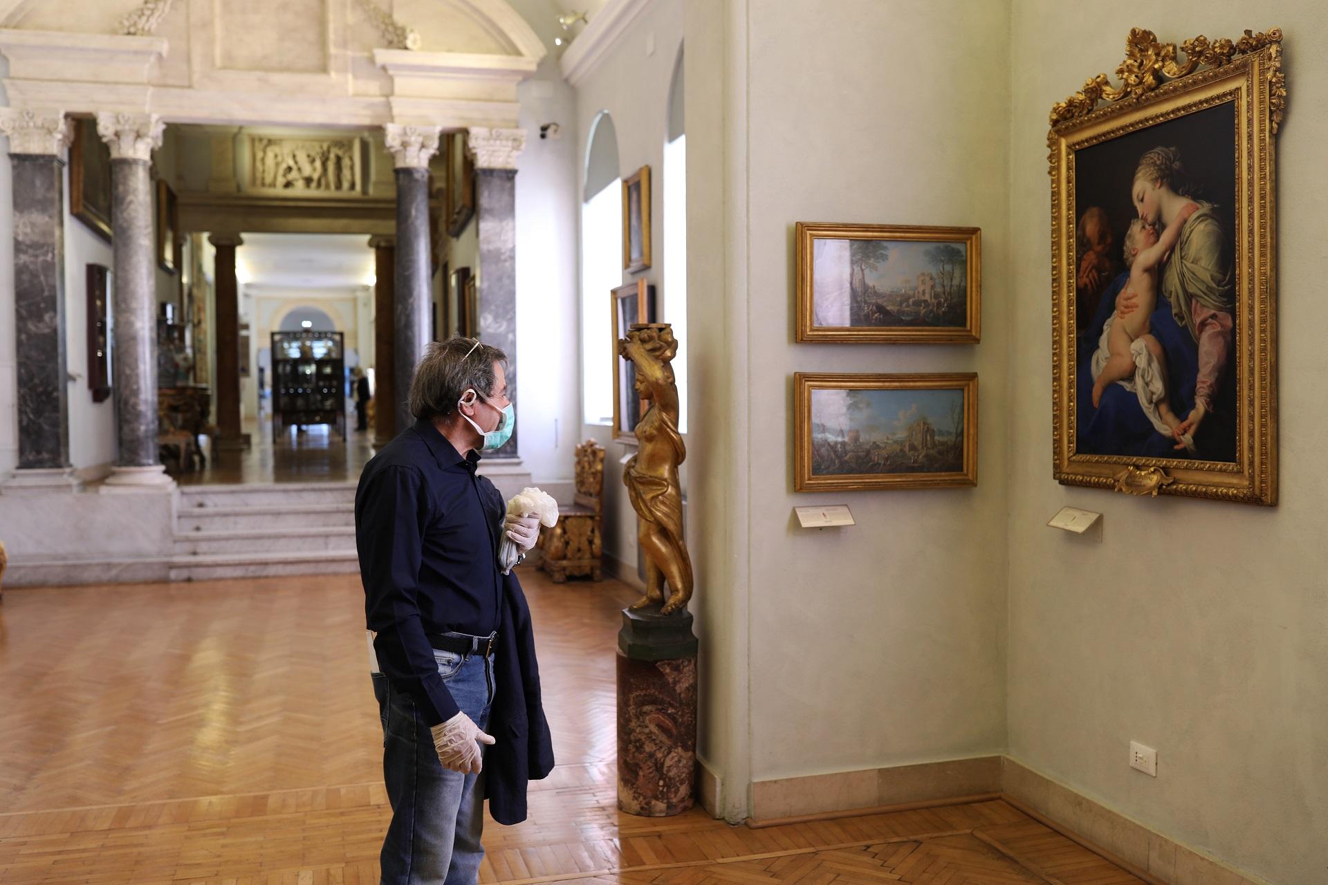 Giornata internazionale dei musei, un visitatore ai Musei Capitolini