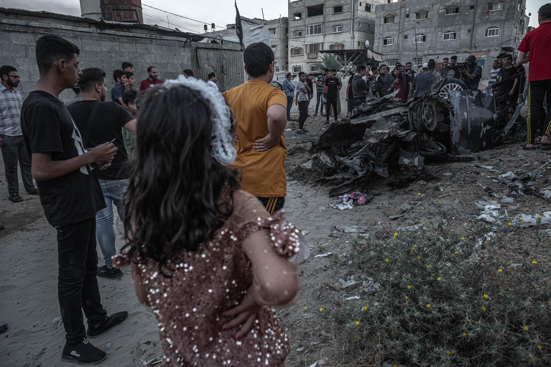Le conseguenze dei bombardamenti israeliani nella Striscia di Gaza