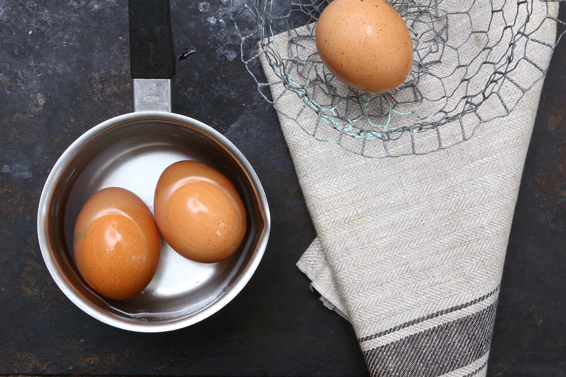 Cottura uova © Beatrice Spagoni