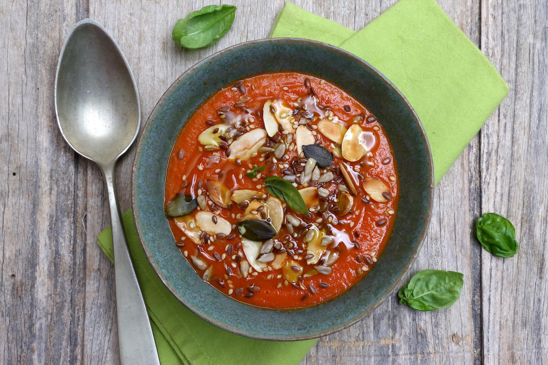 Crema pomodorini pronta © Beatrice Spagoni