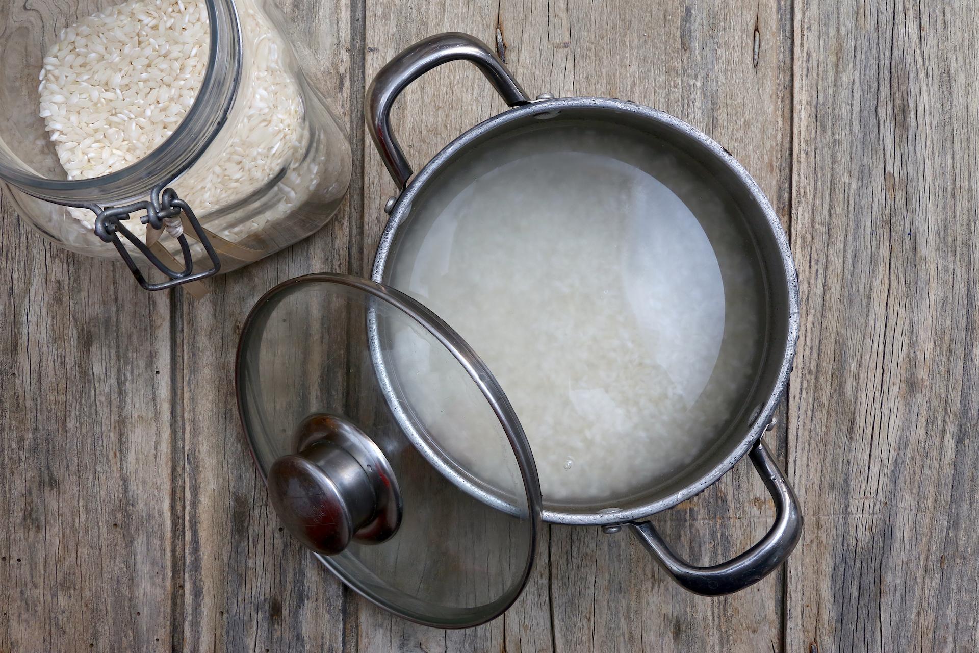 Cottura riso © Beatrice Spagoni