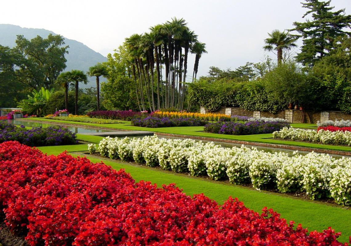 I giardini botanici di villa taranto un viaggio nei 5 - Giardini terrazzati immagini ...