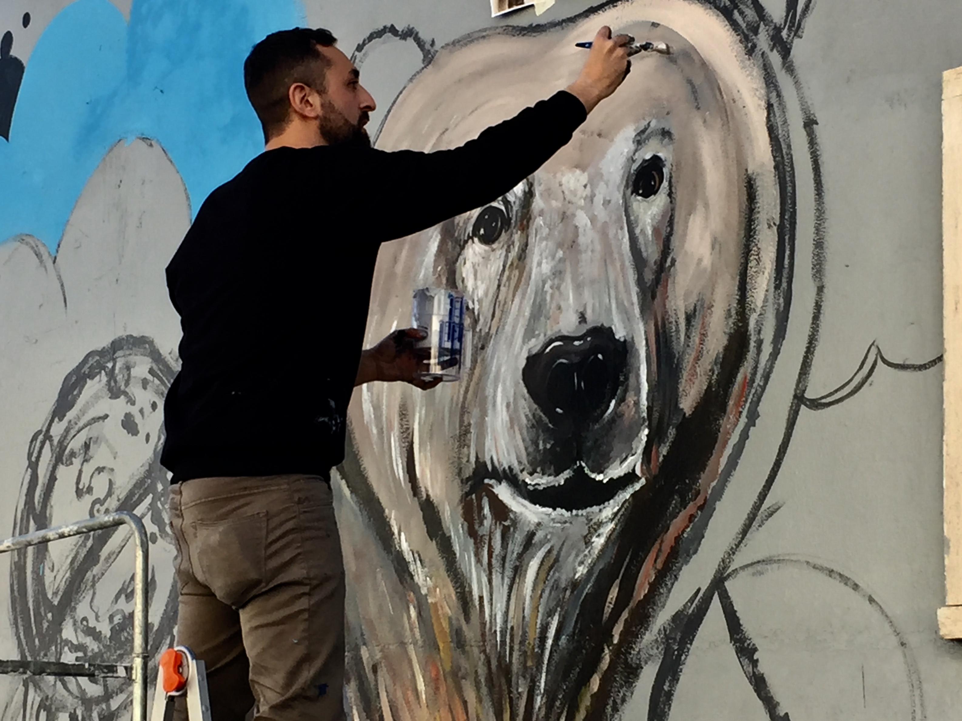 I Piu Bei Murales.A Roma Appare Un Murales Per Il Clima Dopo Lo Sciopero Mondiale Per