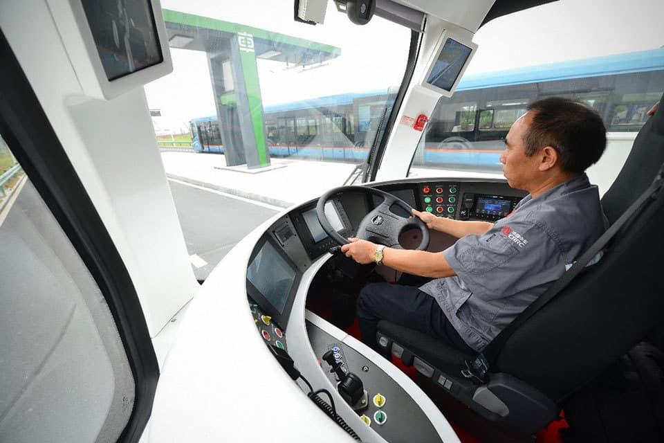 Autonomous-Rail-Transit-CRRC-Cina