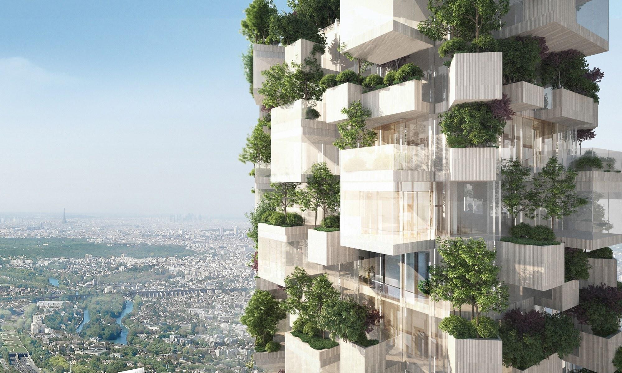 La grande bellezza del Bosco Verticale arriva anche a Parigi