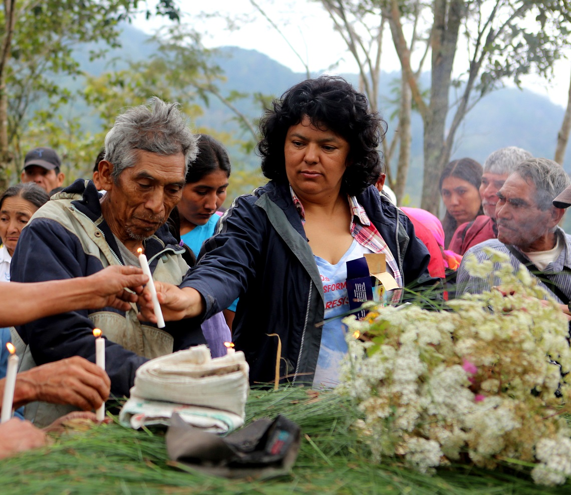 Berta Caceres, attivista honduregna