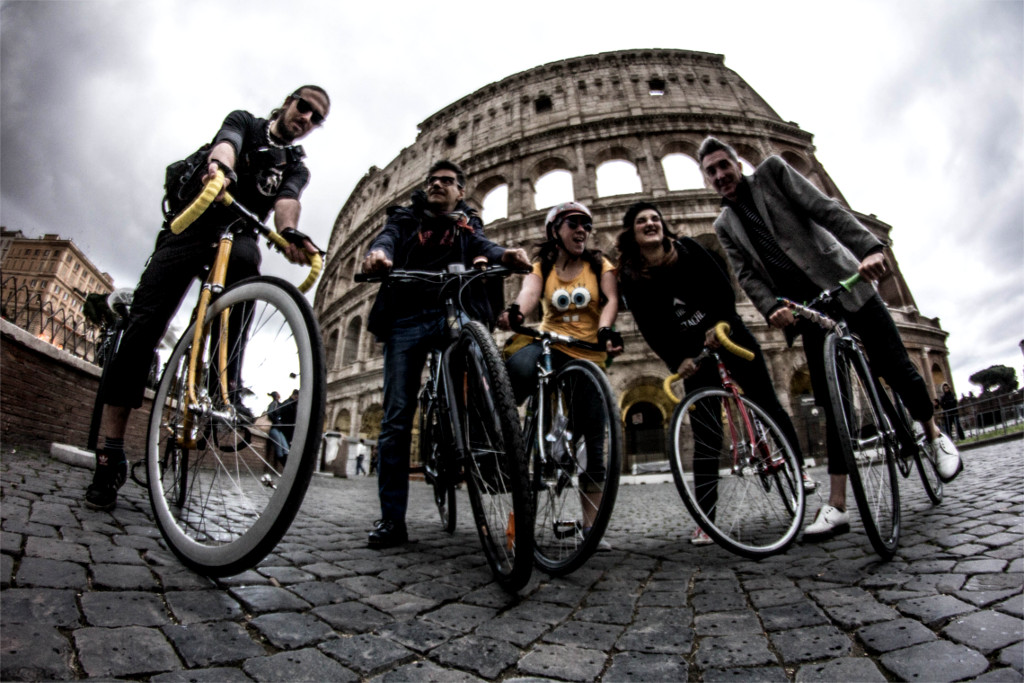 bici senza frontiere colosseo
