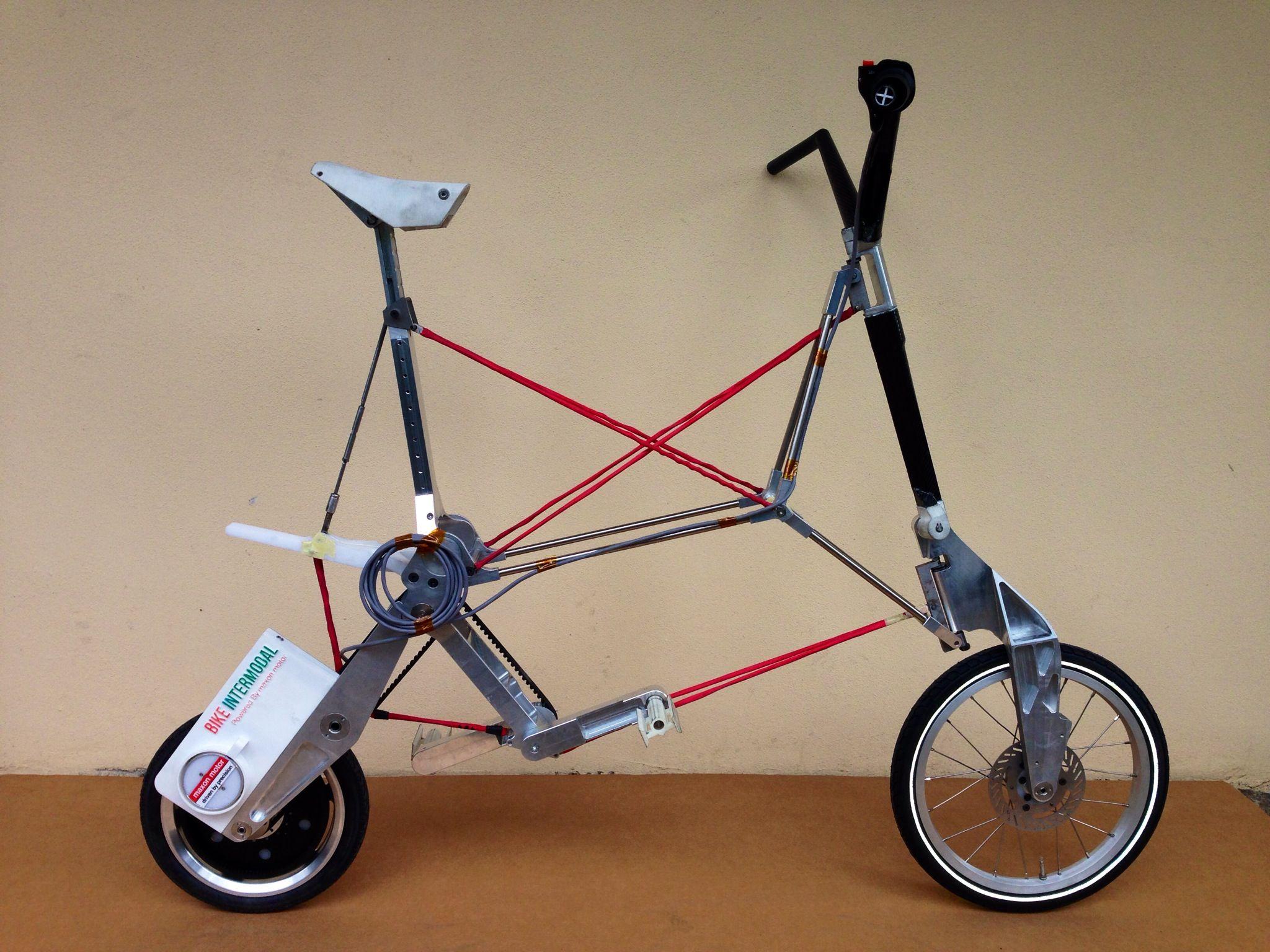 Levoluzione Della Bicicletta Pieghevole Elettrica E Riciclabile