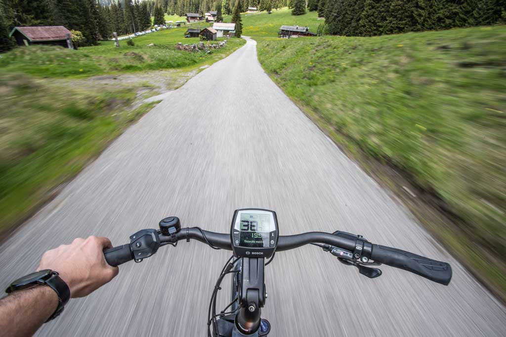 e-bike in Val di Fassa