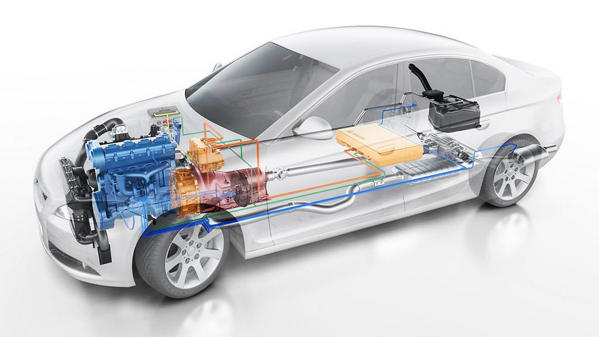 Elettrificazione di massa nascono i primi sistemi pr t for Come ridurre il rumore nella cabina dell auto