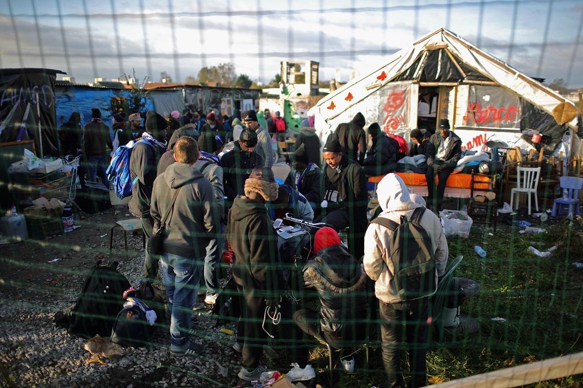 Campo di accoglienza per migranti