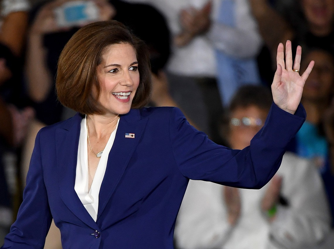 Catherine Cortez Masto, parlamentare del Nevada © Ethan Miller/Getty Images