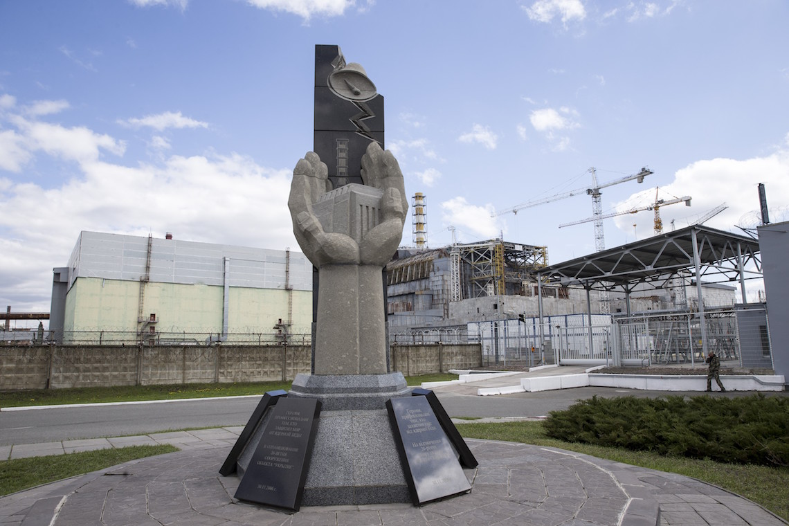 Chernobyl cantiere