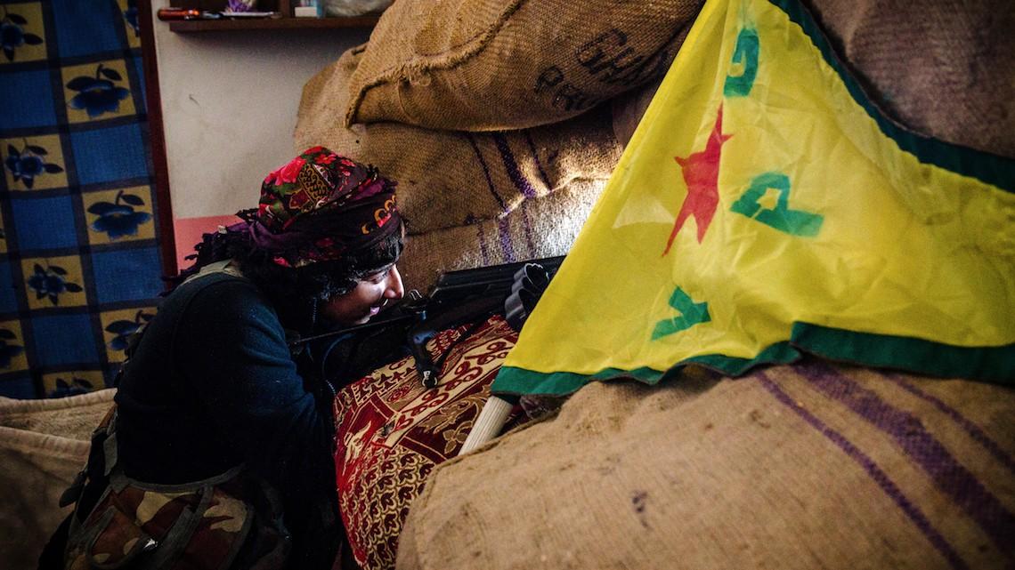 Ypg Curdi Siria