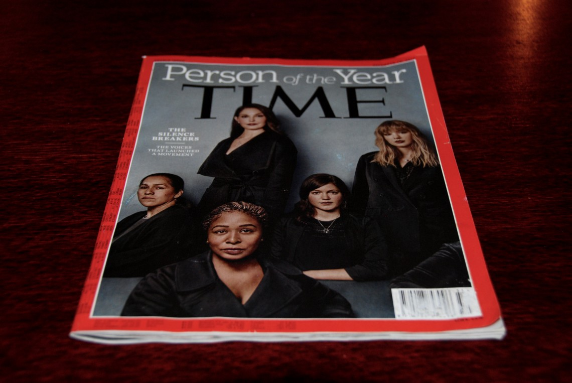 silence breakers, time, person of the year 2017