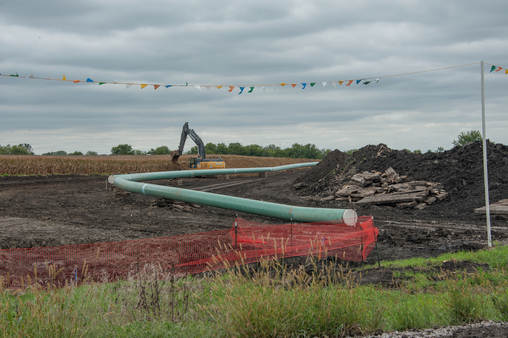 Dakota Acess pipeline oleodotto