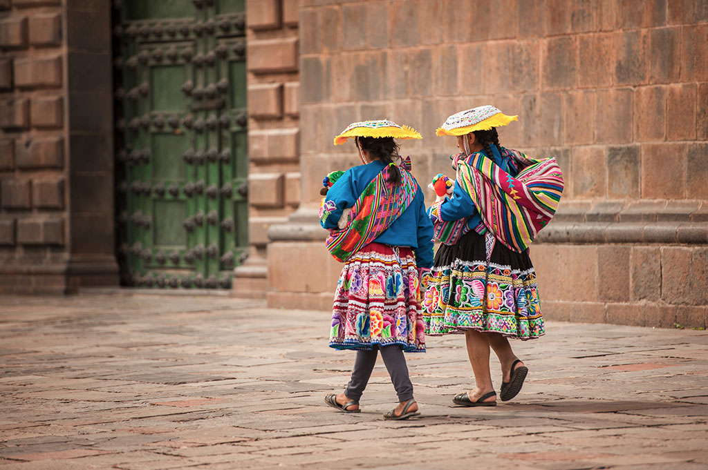 Donne di Cusco
