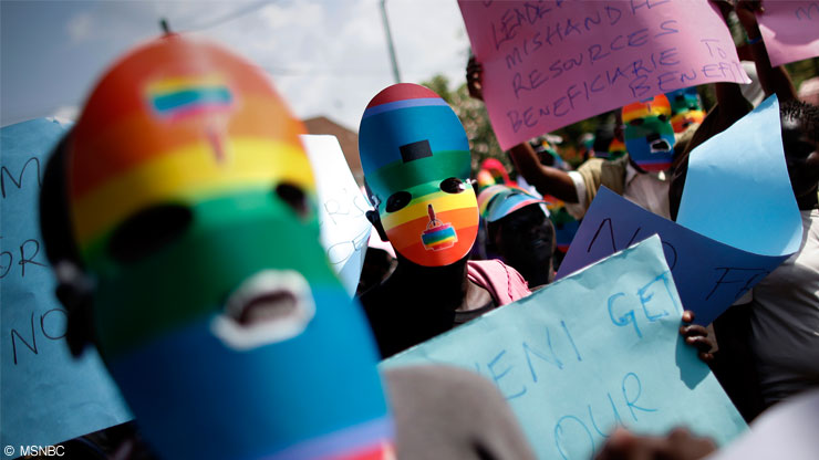 I gay rischiano l 39 ergastolo in uganda lifegate for Numero legale parlamento