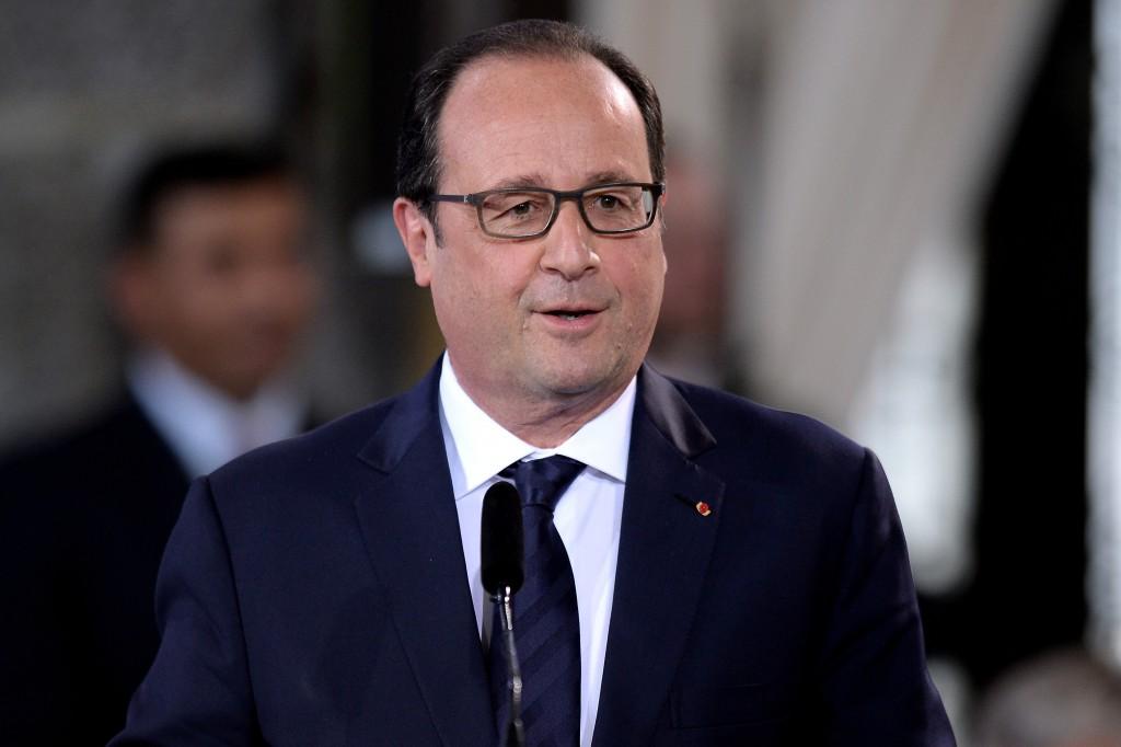 François Hollande presidente Francia
