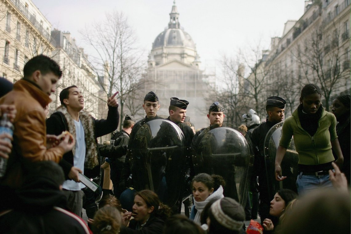 francia studenti inquinamento clima