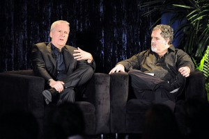 Il registra James Cameron e il produttore  Jon Landau  (Photo by Jeff Kravitz/FilmMagic)