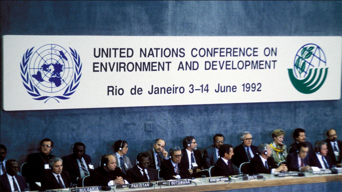 Risultati immagini per vertice di Rio del '92