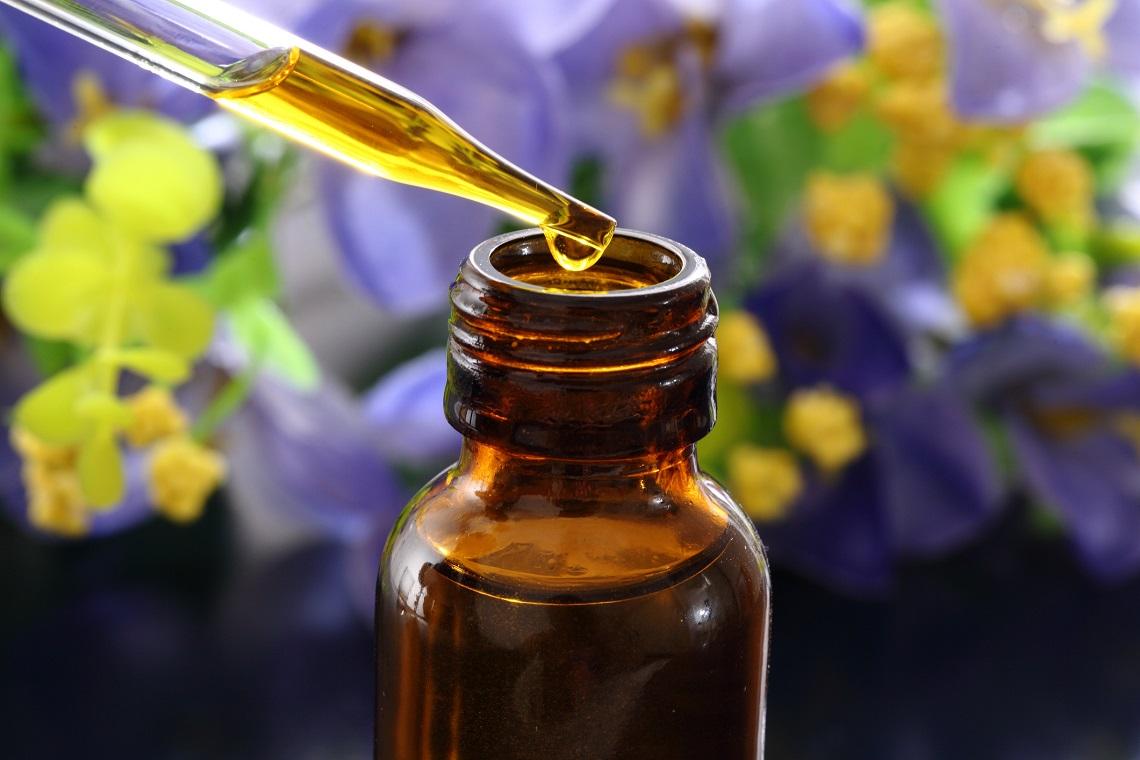 olio essenziale per infezione fungina della pelle