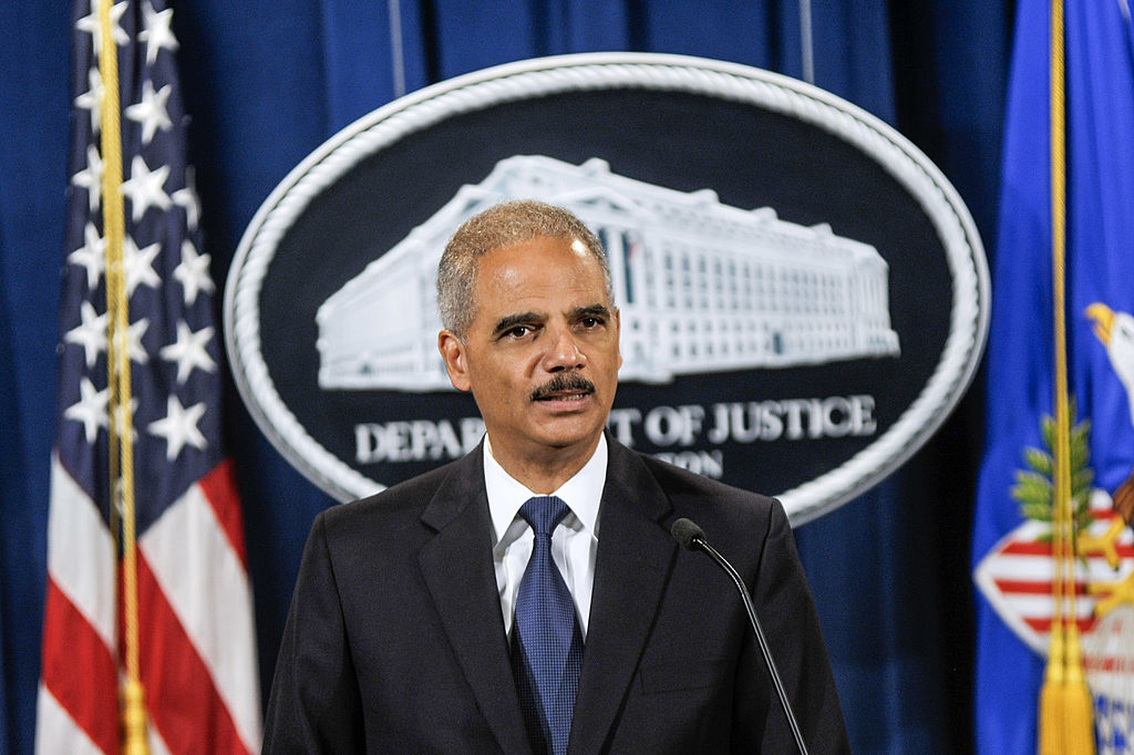 Eric Holder (Photo by Kris Connor/Getty Images)
