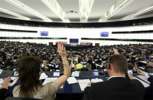Una seduta del parlamento europeo - Foto di Michele Tantussi via Getty Images