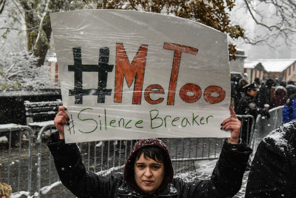 metoo protest new york city