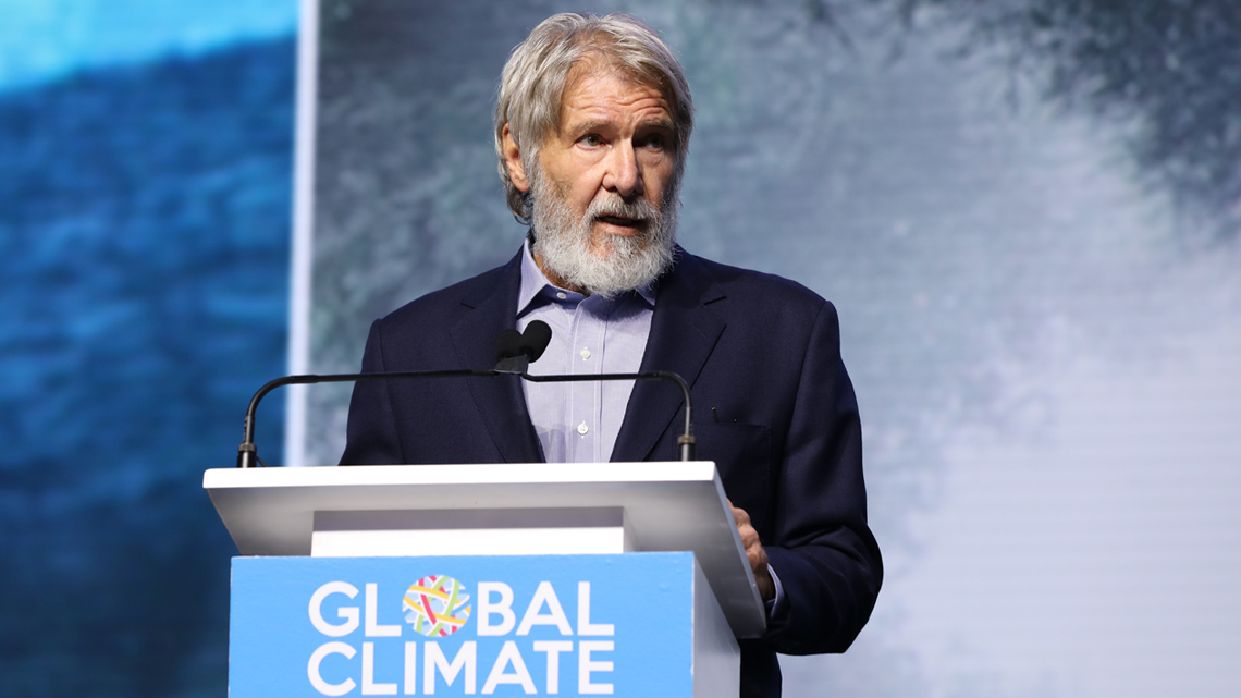 Harrison Ford al Global Climate Action Summit
